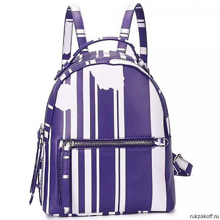 Рюкзак OrsOro DW-838 Фиолетовый/белый