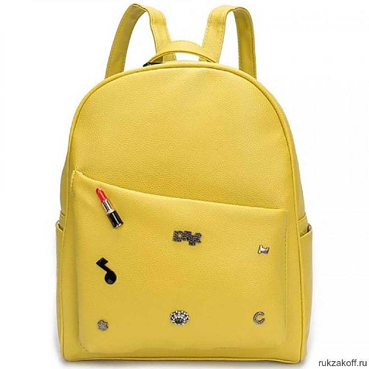 Рюкзак OrsOro DW-809 Желтый