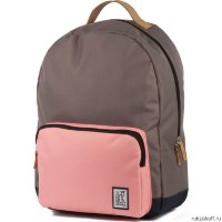 Рюкзак The Pack Society Classic Backpack Charcoal-Pink
