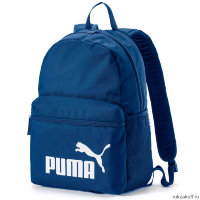 Рюкзак Puma Phase Backpack Синий/Белый