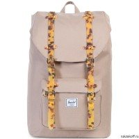 Рюкзак HERSCHEL LITTLE AMERICA BRINDLE/TORTOISE SHELL RUBBER