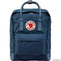 Рюкзак Fjallraven Kanken Classic 16l Ox Royal Blue-Goose Eye