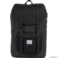 Рюкзак Herschel Little America Black Grid