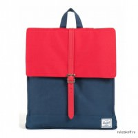 Herschel City Mid-Volume Navy Red