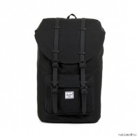 Рюкзак Herschel Little America Black Rubber