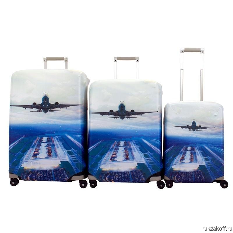 чемодан с картинками самолет скрытых