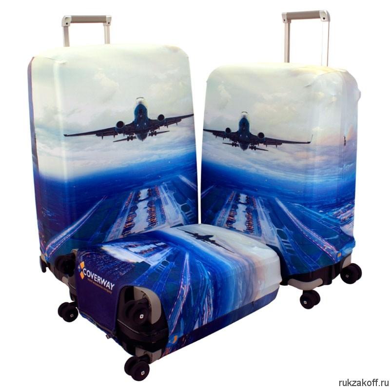 это чемодан с картинками самолет идет