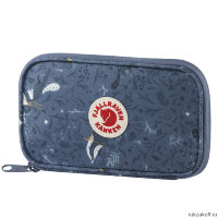 Кошелек Fjallraven Kanken Art Travel Wallet Синий