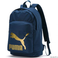 Рюкзак Puma Originals Backpack Синий/Золотой