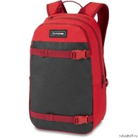 Городской рюкзак Dakine Urbn Mission Pack 22L Deep Crimson