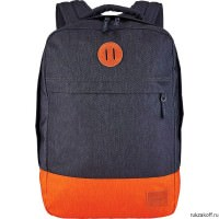 Рюкзак NIXON BEACONS BACKPACK DARK GRAY/ORANGE