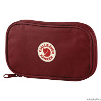 Кошелек Fjallraven Kanken Travel Wallet Бордовый