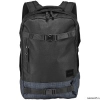 Рюкзак NIXON DEL MAR BACKPACK BLACK/BLACK WASH
