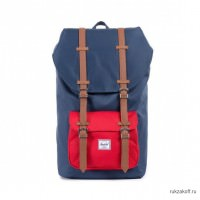 Рюкзак Herschel Little America Navy-Red