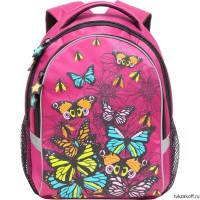 Рюкзак Grizzly A lot of butterflies Pink Rg-657-3