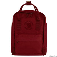 Рюкзак Fjallraven Re-Kanken Mini Бордовый