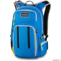 Велорюкзак Dakine Amp 18L Reservoir Bright Blue Bbl